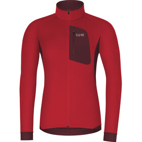 GORE WEAR Thermo Shirt Men red/chestnut red